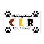 CLR Rectangle Car Magnet