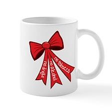 Drug Free Bow Mug