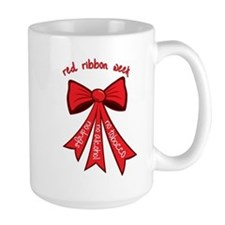 Red Ribbon Week Mug