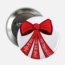 "Red Ribbon Week 2.25"" Button"