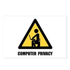 Computer Privacy Postcards (Package of 8)
