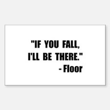 Fall Floor Quote Decal