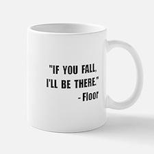 Fall Floor Quote Mug