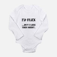 Flex Like Shirt Long Sleeve Infant Bodysuit