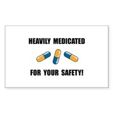 Heavily Medicated Decal