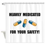 Heavily Medicated Shower Curtain