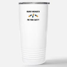 Heavily Medicated Stainless Steel Travel Mug