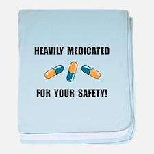 Heavily Medicated baby blanket