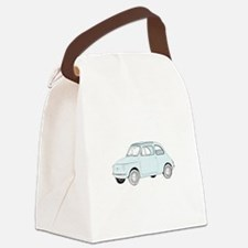 Fiat 500 Topolino - blue.png Canvas Lunch Bag