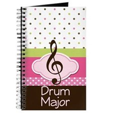 Drum Major Music Notebook Gift Journal