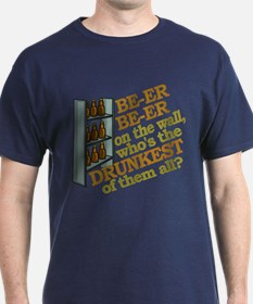 Funny Beer on the Wall T-Shirt