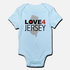 Love 4 Jersey Infant Bodysuit