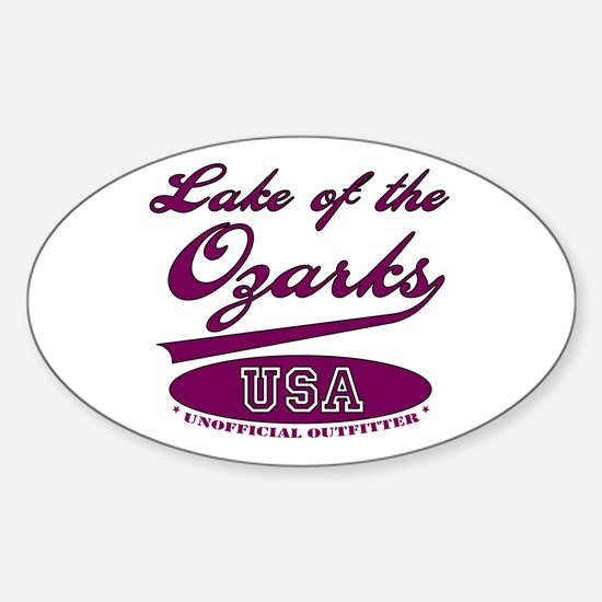 Lake of the Ozarks Oval Decal