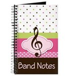 French Horn Music Notebook Gift Journal