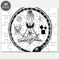 Masonic Logo Puzzle