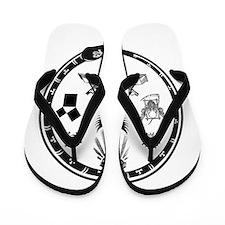Masonic Logo Flip Flops