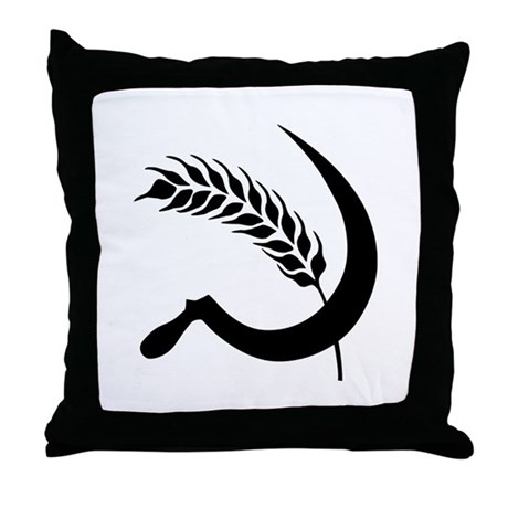 I Hate Wheat Throw Pillow