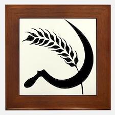 I Hate Wheat Framed Tile