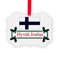 Cute Finnish holiday Ornament