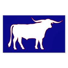 Longhorn Bull Decal