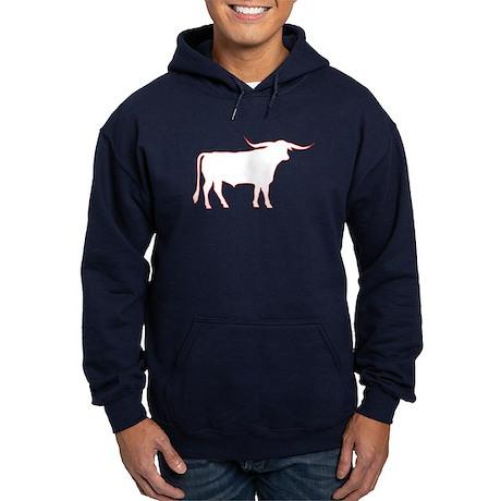 Longhorn Bull Hoodie (dark)