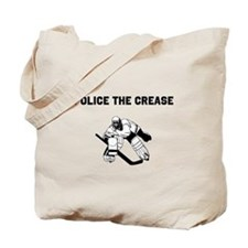 Police the Crease Tote Bag