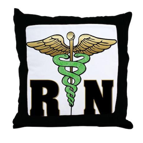 RN / Nurse Throw Pillow