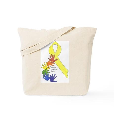 Support Childhood Cancer Tote Bag