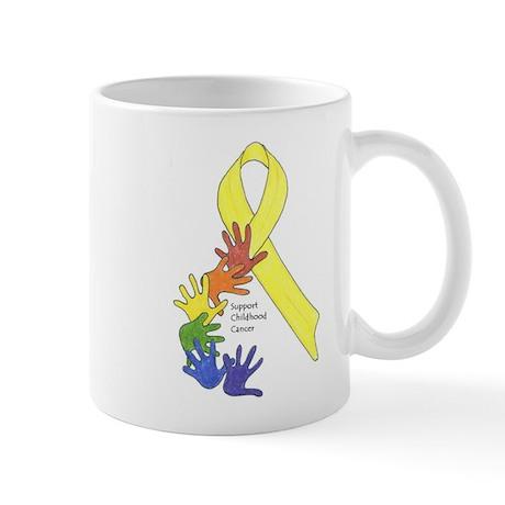 Support Childhood Cancer Mug