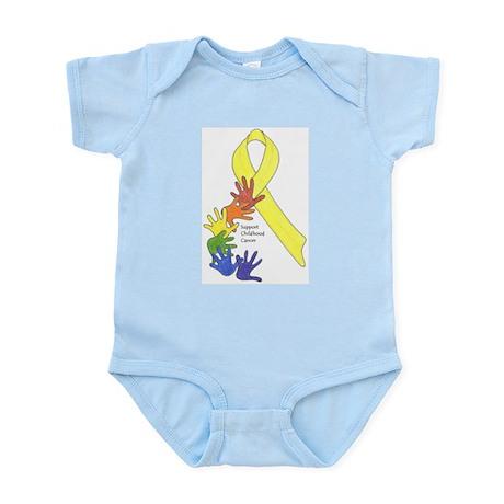 Support Childhood Cancer Infant Bodysuit
