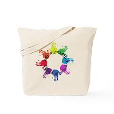 Be a Friend, Lend a Hand Tote Bag