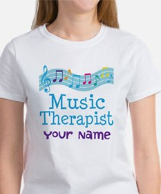 Personalized Music Therapist Tee