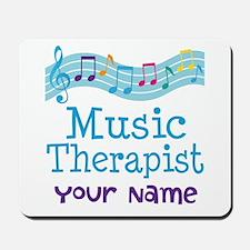 Personalized Music Therapist Mousepad