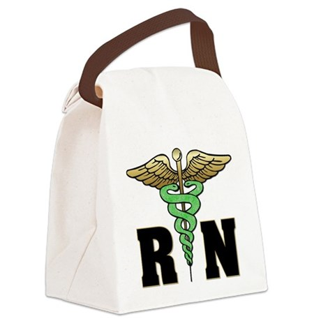 RN / Nurse Canvas Lunch Bag