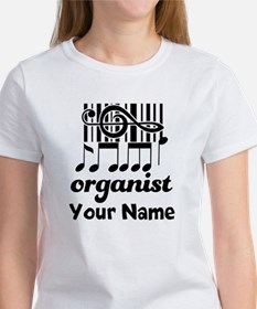 Personalized Organist Women's T-Shirt