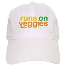 Runs On Veggies Baseball Cap