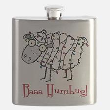 Baaa Humbug Sheep Flask