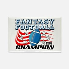 2006 FFL Champion Rectangle Magnet