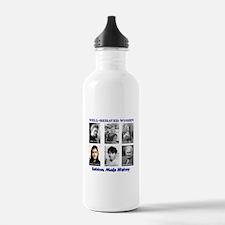 Well-Behaved Women Seldom Make History Water Bottle