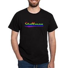 Stallman, Rainbow, T-Shirt