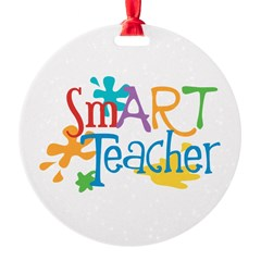 SmART Art Teacher Ornament