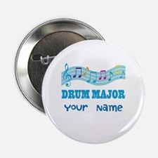 "Personalized Drum Major 2.25"" Button"