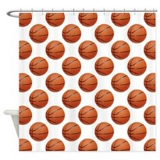 Basketball Shower Curtain