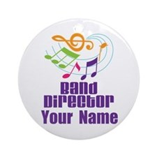 Personalized Band Director Ornament (Round)