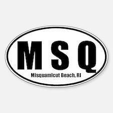 MSQ Misquamicut Beach Sticker Decal