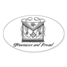 Freemason and Proud Decal