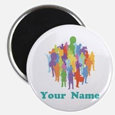 Personalized Marching Band Magnet