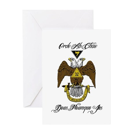 Scottish Rite Color Greeting Card