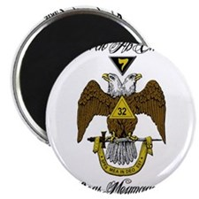 "Scottish Rite Color 2.25"" Magnet (10 pack)"