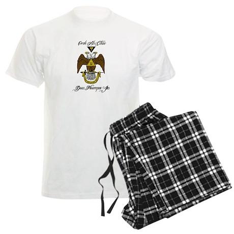 Scottish Rite Color Men's Light Pajamas